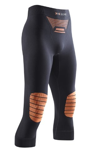 X-Bionic Herren Multisportunterwäsche Energizer Hose Medium, black/orange, XXL, I 20098