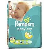 Pampers - Baby Dry Größe 4+ - 84 Windeln (42X2) 9-20 Kg