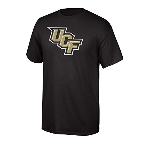 eLITe Fan Shop NCAA Men's Central Florida Golden Knights T Shirt Team Color Icon UCF Knights Black XX Large Ucf Golden Knights