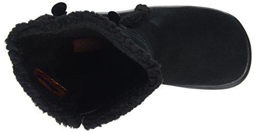 Rocket Dog SLOPE Damen Warm gefütterte Schneestiefel Schwarz (BLACK AG7)