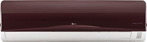LG 1.0 Ton 3 Star Inverter Split AC (Copper, JS-Q12RUXA, Nova Red)