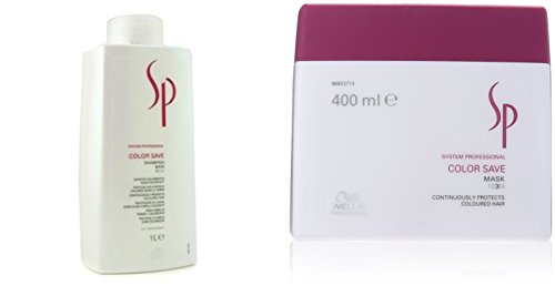 Wella SP Color Save Shampoo 1000 mL & Mask 400 mL For Colored Hair Combo Pack