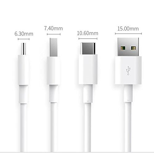 100w Max, 3-weg (BLESYS - USB Typ C zum USB-Kabel (5A), 1.6ft (0.5m) Typ A und Typ-C (USB C auf USB A), Typ-C zu USB3.0-Kabel für für Nintendo Switch, das neue MacBook, Huawei P9, ChromeBook Pixel, Nexus 5X, Nexus 6P, Nokia N1 Tablet, OnePlus 2 und mehr USB Type-C Geräte)