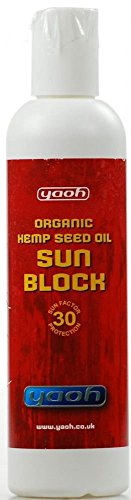 Yaoh Suncare Organic Hemp Seed Oil Sun Block SPF 30 (240ml)