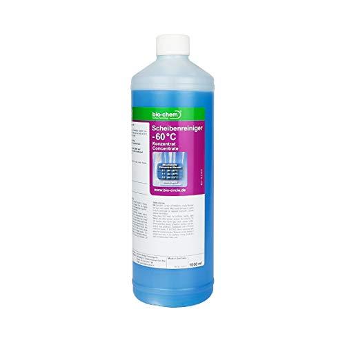 Bio-Chem Scheibenreiniger -60°C 1000 ml Super-Spar Konzentrat Anti-Frost Scheibenfrostschutz Frostschutzmittel Scheibenklar Windschutzscheibe Scheibenwaschanlage