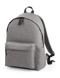 Bag Base mixte Bg126gmar Bicolore Mode Sac à dos Bg126, gris chiné, Medium