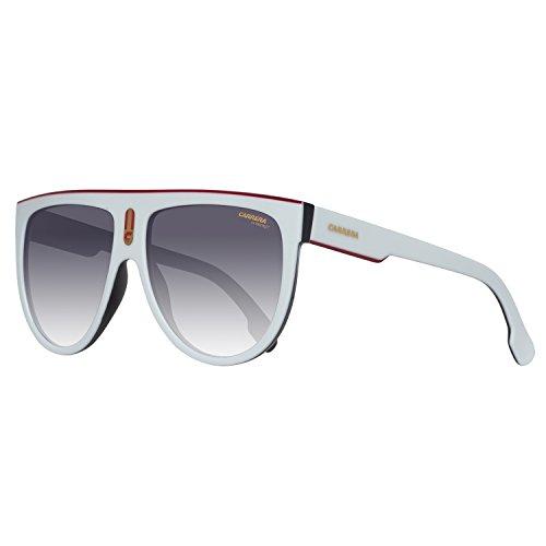 bdc4963a82 Carrera Flagtop 9O CCP, Gafas de Sol Unisex-Adulto, Blanco (White Black