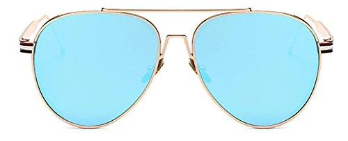2017 Neu / Metall Dicke Seite / Mode / Trend / Bright Reflektierende / Sonnenbrille,E