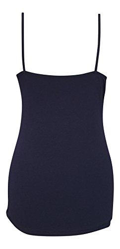Femme petit imprimé coton tres doux 2 pièces veste et culotte ensembles de pyjamas dans rouge et bleu Bleu