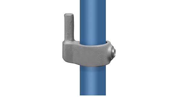 /Ø 48,3 mm Temperguss thermisch vollbadverzinkt inkl Stellschrauben Rohrverbinder Elenkst/ück Einfach