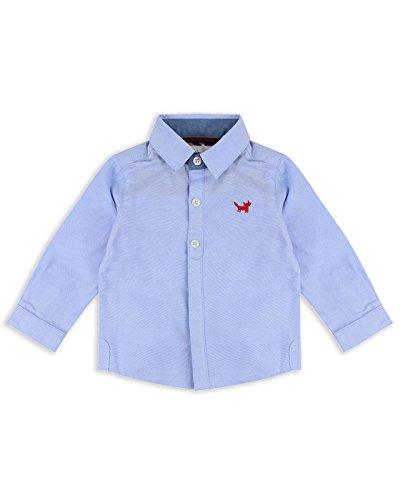The Essential One - Bebé Infantil Niños Camisa Manga Larga - Azul - 18-24m - EOT410