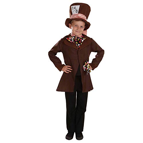 Fun Shack FNK3877XL Kostüm, Boys, Mad Hatter, - Mad Hatter Kostüm Boy