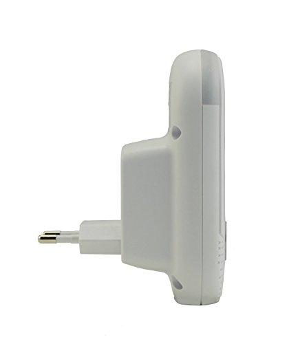 Motorola MBP 8 Babyphone, Digitales Wireless Babyfon, Mit Nachtlicht und DECT-Technologie, Zur Audio-Überwachung, Weiß - 7