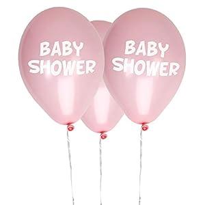 Neviti- Little Star Pink-Baby Shower Balloons-8 Pack Globos, Color rosa, 10 x 3 x 0.2 (775424)