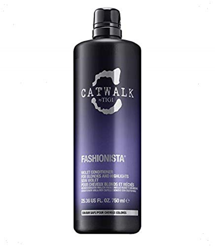 Tigi CATWALK  Fashionista Violet Conditioner, 1er Pack (1 x 750 ml)
