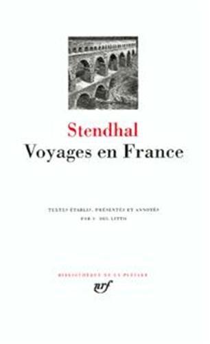 Stendhal : Voyages en France par Stendhal