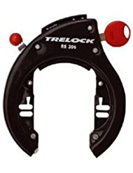 Trelock RS 306 AZ Frame Lock Direct Mount with Removable Key Black by Trelock
