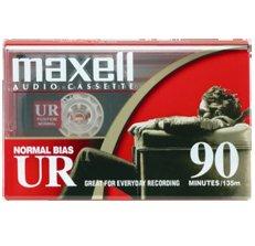 Maxell 124036.01 - 124036.01 UR-90 5PK Ferric Audio Test