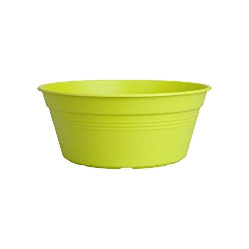 Elho 2055277 Green Basics Coquille pour Planter Vert Lime 33 x 33 x 14 cm