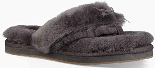 UGG Damen - Hausschuhe Fluff Flip III 1100250 - Grey