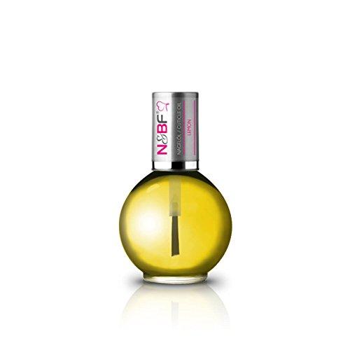 N&BF Nagelöl Lemon mit Duft (Zitrone) 11,5ml – Cuticle Oil – Nail Oil – Nail Care – Nagel Pflege – Nagelhautöl – Repair & Protect Öl für Gelnägel und Naturnägel ohne Zusatzstoffe vegan (Zitrone) (Nagel Hand Pinsel Pflege)