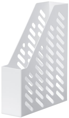 HAN Stehsammler KLASSIK, DIN A4/C4, mit Sicht- und Griffloch, weiß