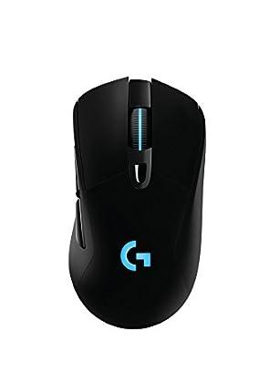 Logitech G703 - Ratón inalámbrico para Gaming c...