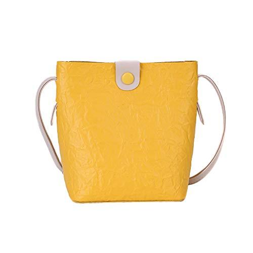 NMERWT Damen Umhängetasche Mode Allzweck Small Square Bag Single Schulter Vielseitig Messenger Bags Handtasche Stylischer Tasche Henkeltasche -