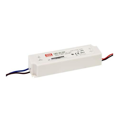 LED Netzteil 34W 9-48V 700mA ; MeanWell, LPC-35-700 ; Konstantstrom
