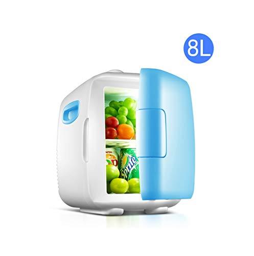 Raffreddatore da 8 Litri Mini frigo e scaldino Portatile e Silenzioso Blu...