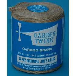 Cardoc Spool Natural Jute Fillis Garden Line - 5ply 400g