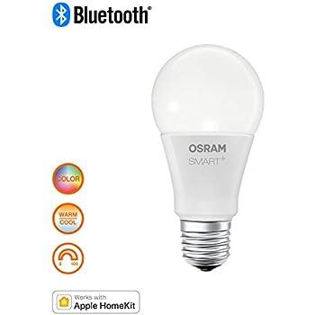 OSRAM SMART Bluetooth LED E27 Globe 5,5W 2700K warmweiß dimmbar Sprachsteuerung