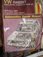 Haynes VW Rabbit, Golf, Jetta, Sirocco, Pick-Up: Automotive Repair Manual (Haynes VW Rabbit, Jetta, Scirocco & Pick-Up Owners Workshop) by John Harold Haynes (1992-12-02) par John Harold Haynes;A. K. Legg