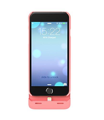 Boostcase Hybrid Cover Batteria per Ricarica di Emergenza per iPhone 6, 2700 mAh, Oro Rosa