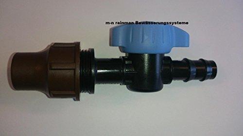 Peraqua vanne d'arrêt et robinet à boisseau sphérique 16 x 16 mm mm connecteur raccords coulissants