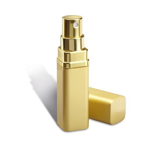 Petit atomiseur à parfum, doré