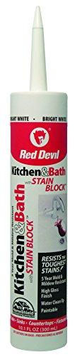 Küche & Bad mit Fleck Block weiß 10.1Oz von Red Devil