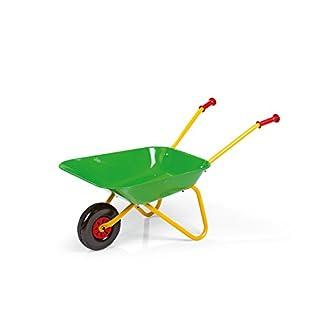 Rolly Toys rollyMetallschubkarre (ab 2,5 Jahren, Kinderschubkarre, Metallschüssel, Kunststoffgriffe, max. belastbar bis 25 kg) 271900