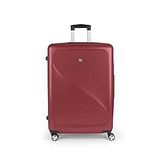 Gabol – Sand | Maletas de Viaje Grandes Rigidas de 51 x 75 x 28 cm con Capacidad para 91 L de Color Rojo