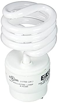 Eiko Sp1827-gu24 18w 2700k Base Spiral Halogen Bulbs 0
