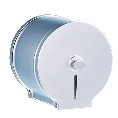 Hängende Wc-papierrollenhalter (Xiaoyu Toilettenpapierhalter,Papierrollenhalter Klopapierhalter, Bad Und WC Für Die Küche, Hängende Rollenhalter, Sägezahn-Design, Space Aluminium)