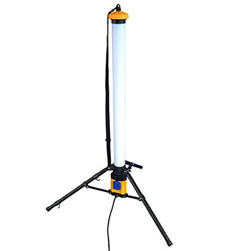 LED-Röhren-Baulampe Baustrahler 36W 360 Grad Kaltweiß 6000K Leistung 3600 Lumen Mit Kabel und eingebauter Steckdose -