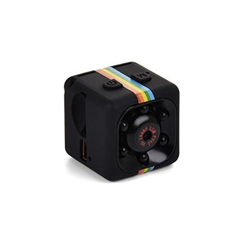 Funkprofi Mini Kamera, 1080P Full HD Mini Surveillance Cam Sport Mini DV 12 Megapixel mit Bewegungsmelder Infrarot Nachtsicht