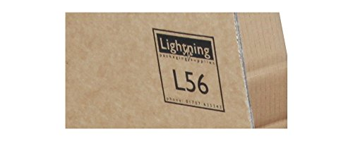 """Buy Moving Boxes Pack – Complete Moving Packing Kit of 35 x Double Wall Lightning Branded Cardboard Boxes, 6 x Hanging Garment Removal Boxes & Packing Materials. Removal Kit with Variety of Strong, Clean Packing Boxes – 5 x Extra Large 24""""x24""""x24″, 10 x Large 18""""x18""""x20″, 10 x Standard 18""""x12""""x12″ & 10 x Small 12""""x12""""x12″. Includes 22.5m Bubblewrap, Roll Fragile Printed Tape, Pack Acid Free Tissue Paper, Pack Newspaper Offcuts, 3 Rolls Brown Packing Tape, Handheld Tape Dispenser & Marker Pen. Online"""