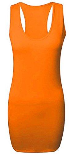 faozofashion - Débardeur - Femme Orange