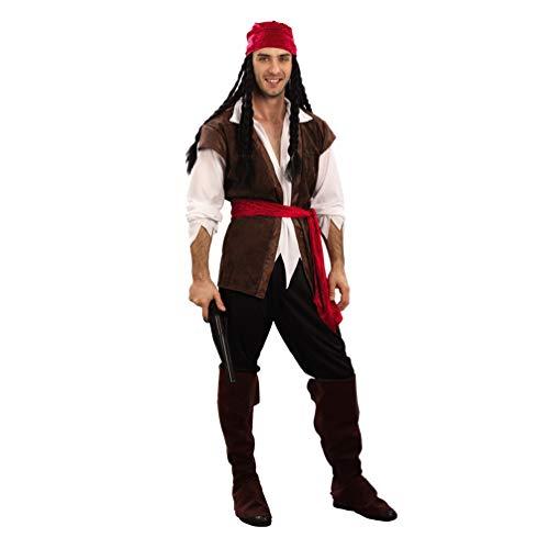 für Erwachsene Halloween Partner Kostüm Cosplay Verkleidung Karnevalskostüme (Pirat |Herren, Eine Größe) ()
