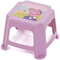 Preisvergleich für Arditex Tritthocker für Kinder Rutschfest Unter Lizenz Peppa Pig Maße: 27x 27x 21cm, Kunststoff, 27x 21x 27cm