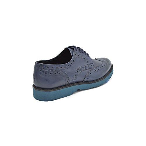drudd  Bristolcrustaw1701, chaussures à lacets homme Bleu