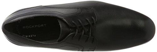 Rockport - Style Connected Plaintoe, Stivali Uomo Nero (Black Leather 2)