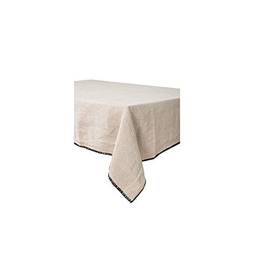 Harmony - Nappe en lin lavé Letia - 100% lin stone wash - Naturel - 170x250cm